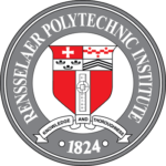 The logo for Rensselaer Polytechnic Institute which ranked 14th for best historic schools