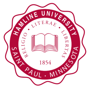 The logo for Hamline University which has one of the best accredited online mpa programs