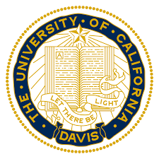 The logo for University of California-Davis which has one of the best colleges for computer science