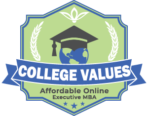 Affordable Online Executive MBA Badge