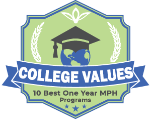 10 Best One Year MPH Programs Badge