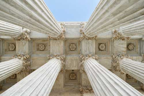 Pillars of the Supreme Court of the United States